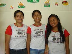 Minha irmã Carla, Tia Danielly e Tia Usiane.