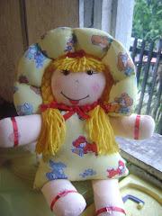 boneca travesseiro