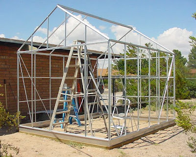 However there were only two of us building this so we decided to assemble the roof on top of the walls piece by piece. It\u0027s actually quite easy also. & Building our Harbor Freight 10\u0027 x 12\u0027 Greenhouse: Part Four ...