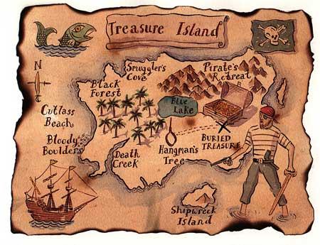 Paul Mac Treasure Island