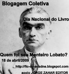 """Blogagem Coletiva """"Quem foi seu Monteiro Lobato?"""""""