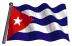 La bandera del pueblo cubano