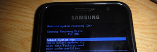 Put Samsung Epic 4G to Recovery Mode