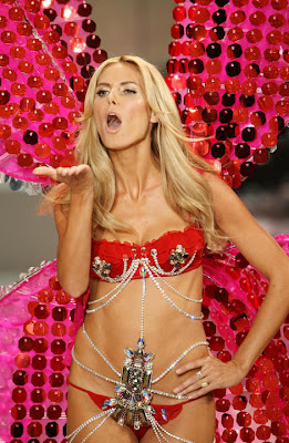 Heidi Klum en Victoria Secret