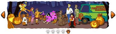 Logo de Google featuring Scooby-Doo