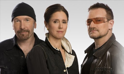 The Edge, Bono y Julie Taymor