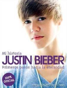Portada del libro Memorias de Justin Bieber