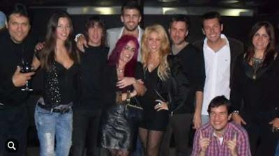 primera foto de Pique y Shakira Juntos en cumpleaños