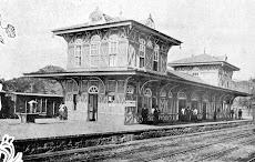 Estação Japeri em 1858