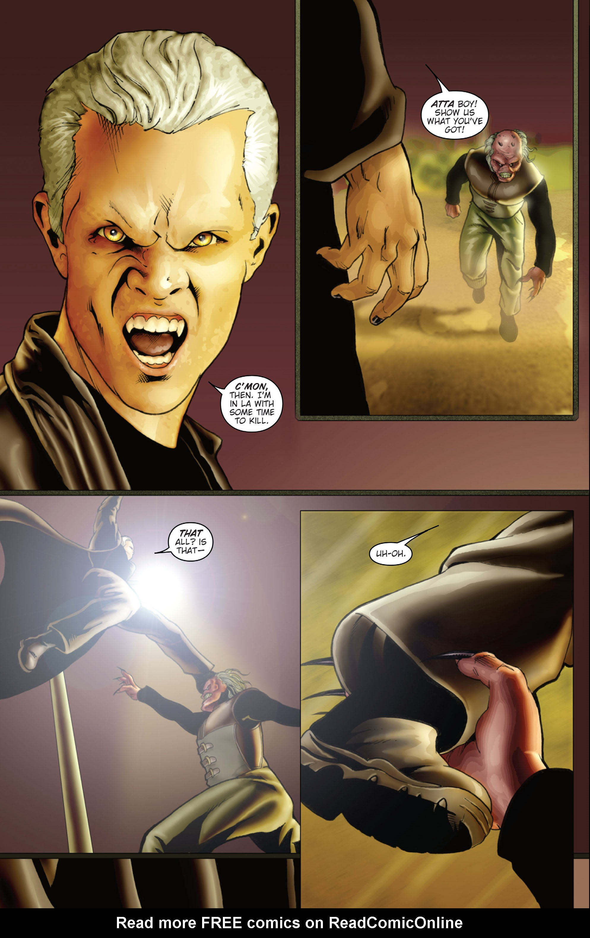 Read online Spike (2006) comic -  Issue # Full - 28