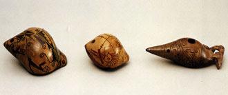 Ocarinas preshispánicas del Ecuador