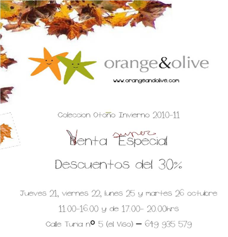 Mercadillos madrile os more orange olive - Gancedo outlet madrid ...