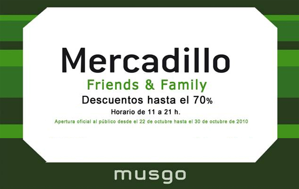 Mercadillos madrile os more musgo friends family for Gancedo outlet madrid