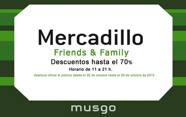 Mercadillos madrile os more musgo friends family - Gancedo outlet madrid ...