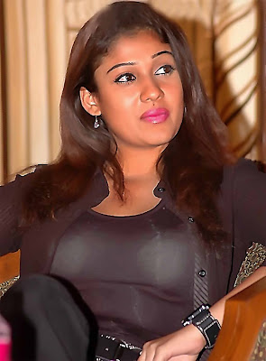 nayanthara without any dress