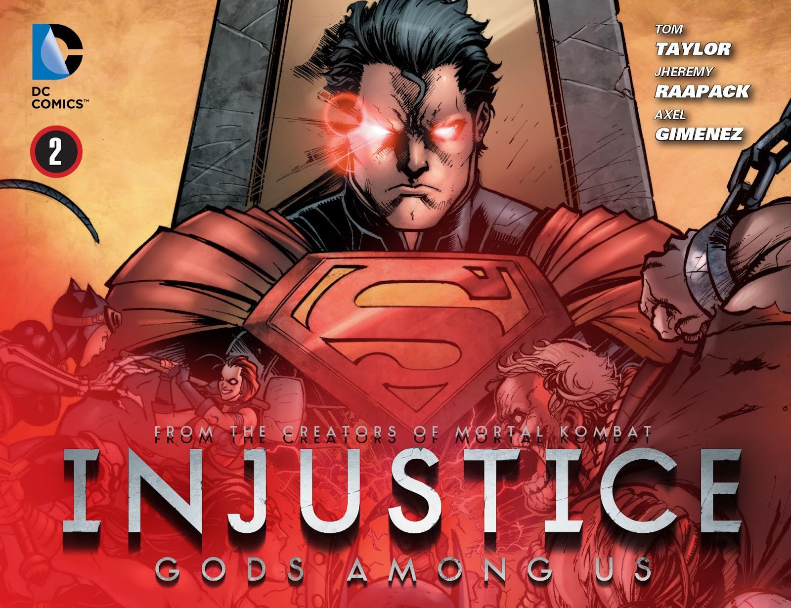 Injustice: Gods Among Us [I] Issue #2 #3 - English 1