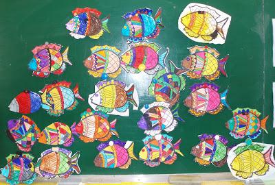 Ecole henri matisse les poissons d 39 avril des l ves de maternelle - Poisson avril maternelle ...