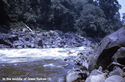 Bakun rapid - long before the Dam construction.