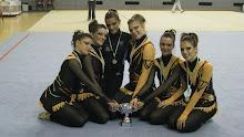 2ª Clasificadas Copa de Andalucía 2008. Conjunto Senior.