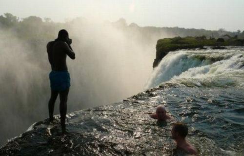 Devils Pool Victoria Falls Swimming