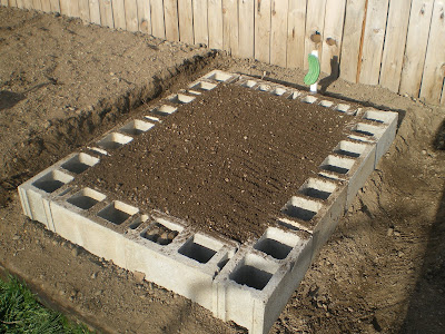 Building A Cinder Block Raised Garden Bed P R E P P E R