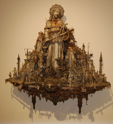Apocalyptic Sculptures by Kris Kuksi