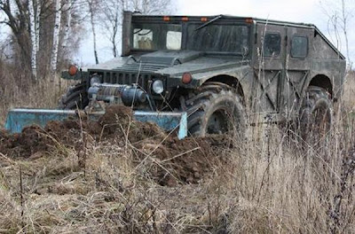 Russian Home Made Hummer