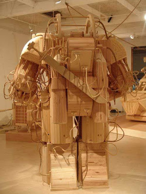 Wooden Sculptures by Michael Rea