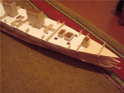 Dude Builds Paper Model of the Titanic