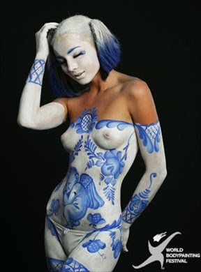 Festival Body Painting Ideas