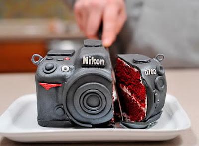 rozrezaný Nikon