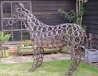 how to make metal sculpture without welding