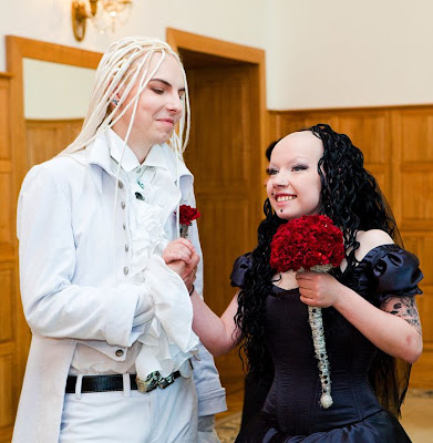 Goth Wedding in Russia