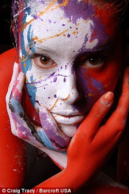 body painting photos