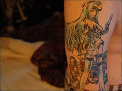 40 Geeky Video Game Tattoos | gaming characters Tattoos