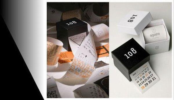 Interesting unusual and creative calendar designs - Desktop calendar design ideas ...