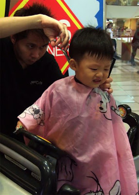 My First Traumatic Haircut