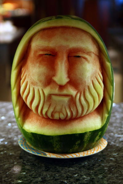My funny creative watermelon carving art pictures