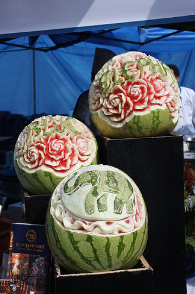 Fresh pics amazing watermelon carving art