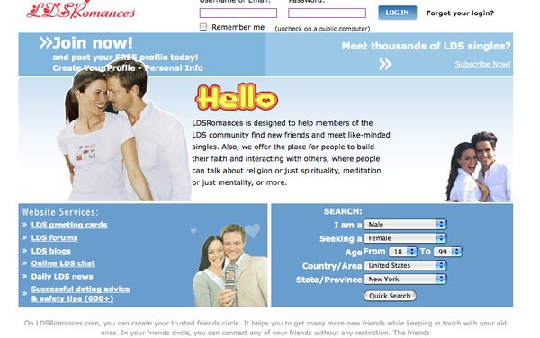 Free mormon dating websites