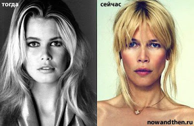 Celebrities Then and Now