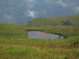 Heart Shaped Lake - Chembra Peak
