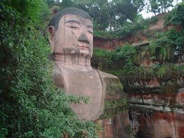 Grand Bouddha de Leshan - Août 2004