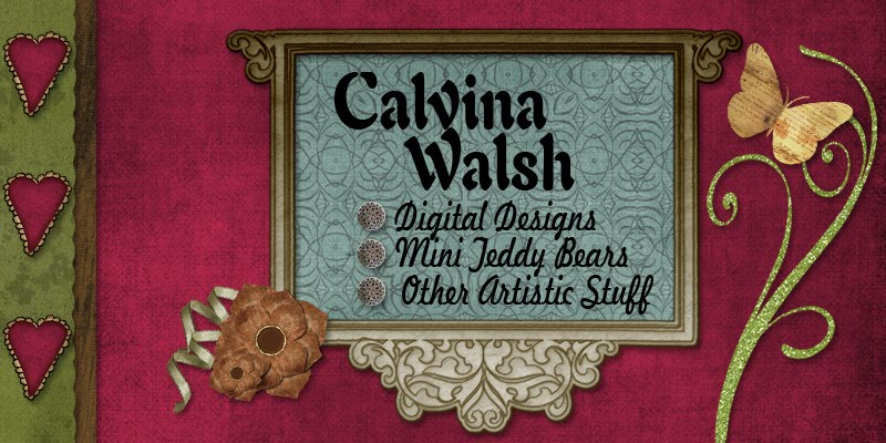 Calvina Walsh...Living Creatively...a little bit each day.