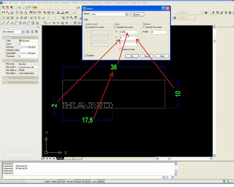 how to change line scale in autocad