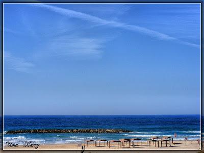голубое небо,небеса,море