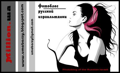 визитка для блога