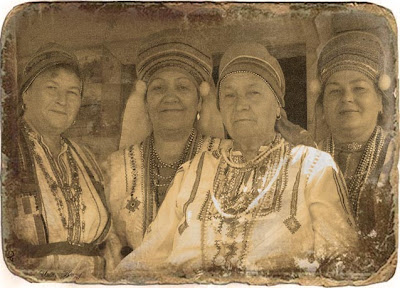 старинная фотография, мордовочки