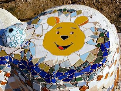 мозаика на детской площадке