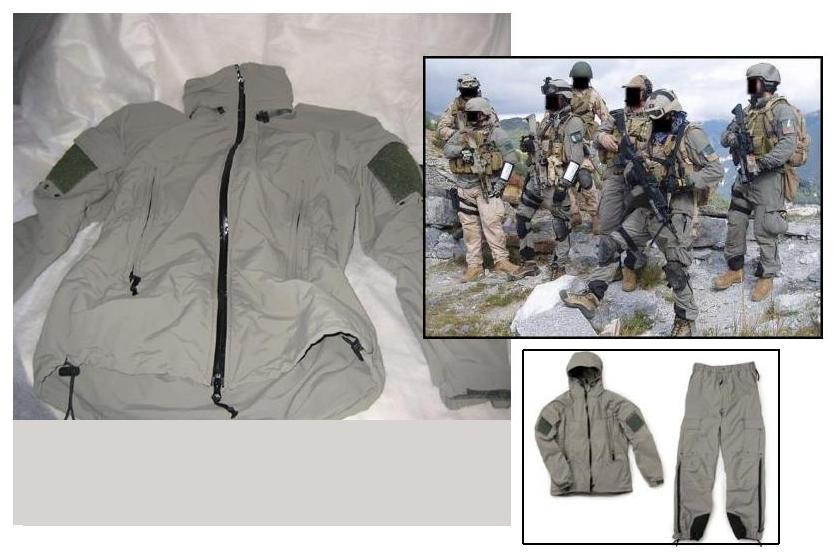 PCU ropa de invierno PCU+leve5